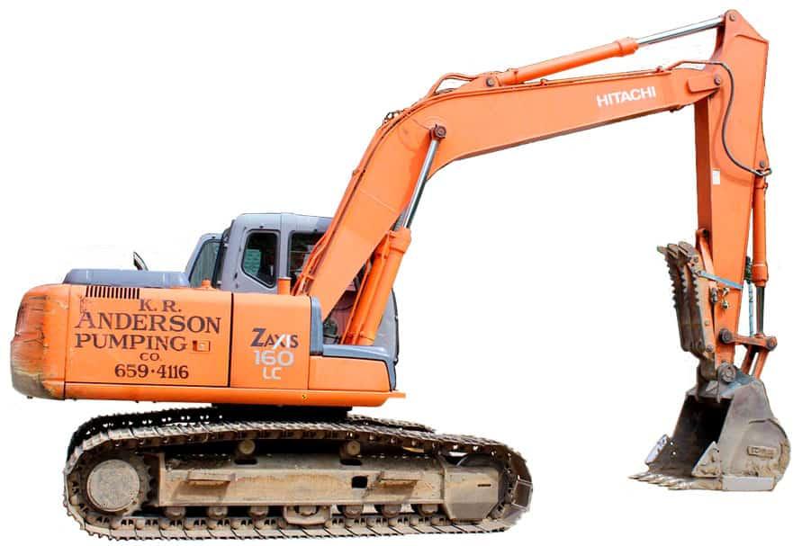 K.R. Anderson Pumping Digger